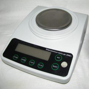 Весы электронные (до 2000г)