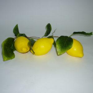 Ветка муляжей Лимоны