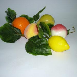 Ветка муляжей ассорти фрукты