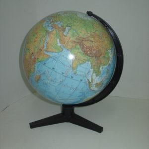 Глобус Земли фезический