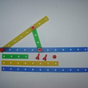 Набор для конструирования плоскостных геометрических фигур (раздаточный)